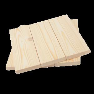 Планкен из сосны (прямой / скошенный)